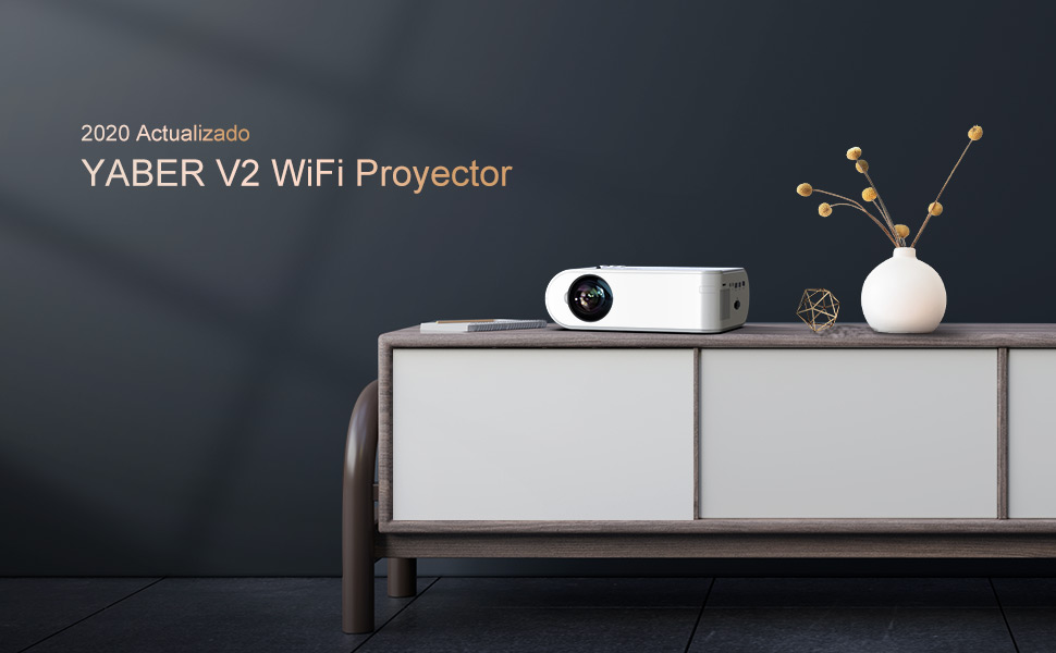 opinión proyector wifi yaber v2