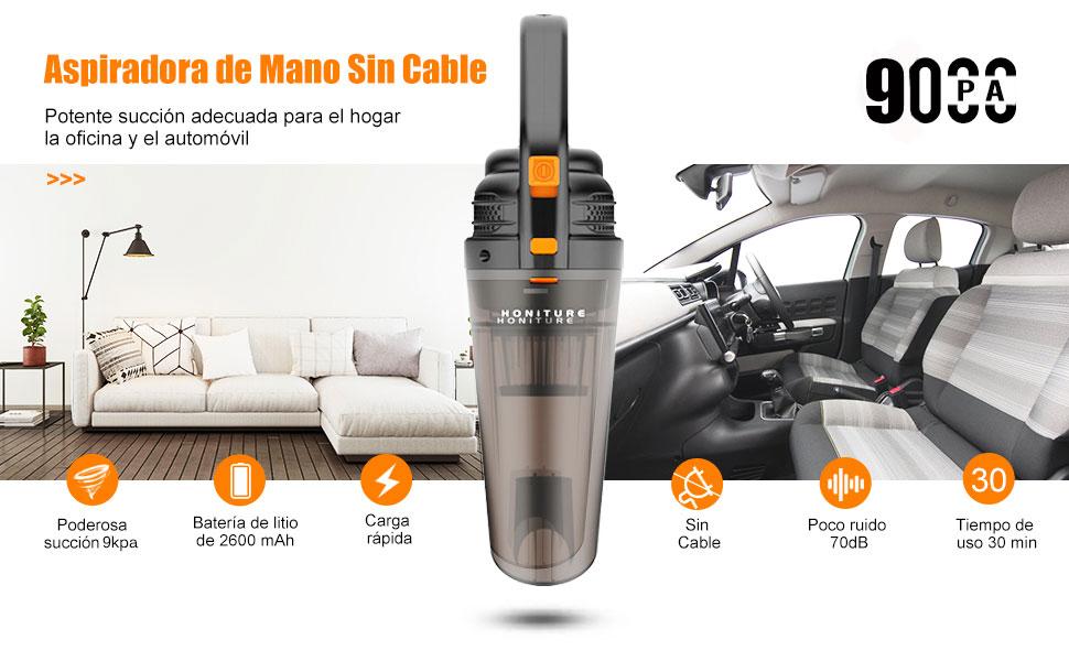 aspiradora honiture sin cable para coche