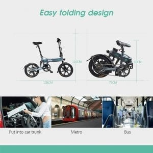 bicicleta eléctrica plegable opiniones