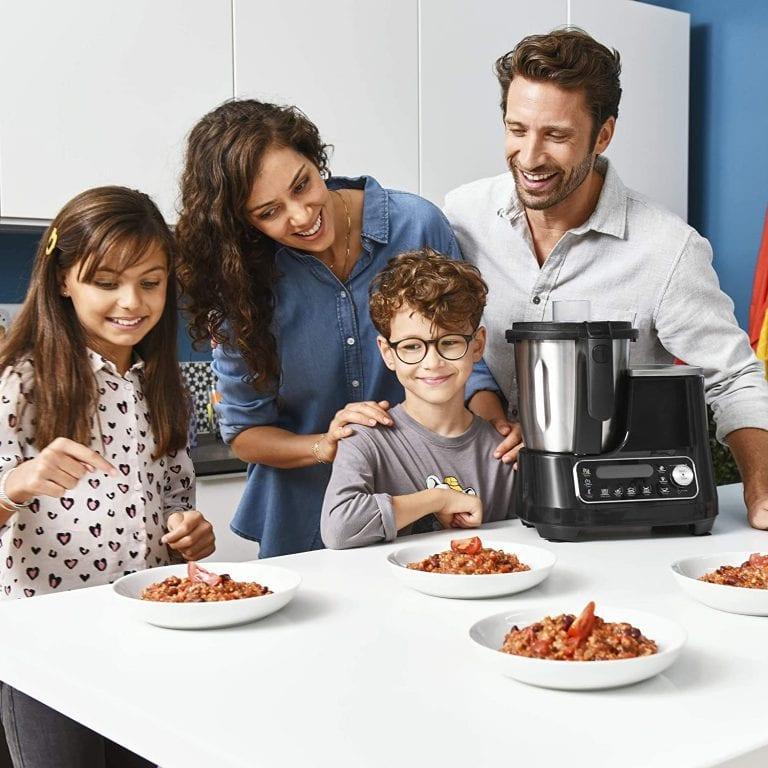 robot cocina moulinex clickchef opiniones