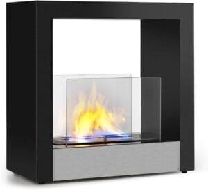 chimenea con bioetanol klarstein phantasma cube