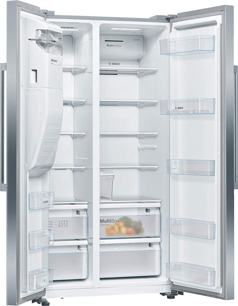 frigorífico americano con dispensador de agua bosch