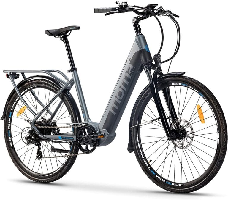 moma bike bicicleta eléctrica urbana opiniones