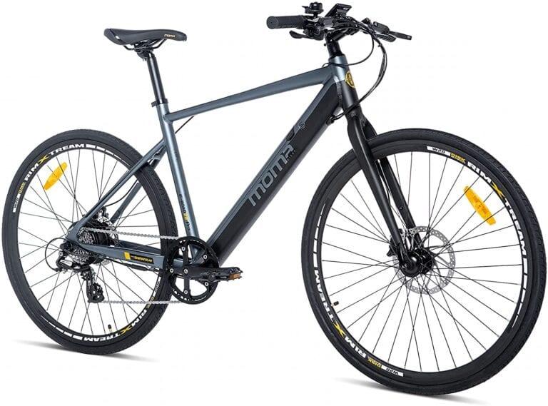 moma bike e-road equipped full shimano