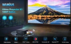 proyector wifi wimius k1 comparativa