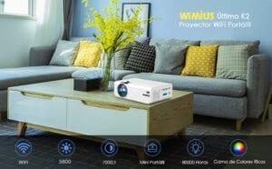 wimius k2 proyector wifi portátil
