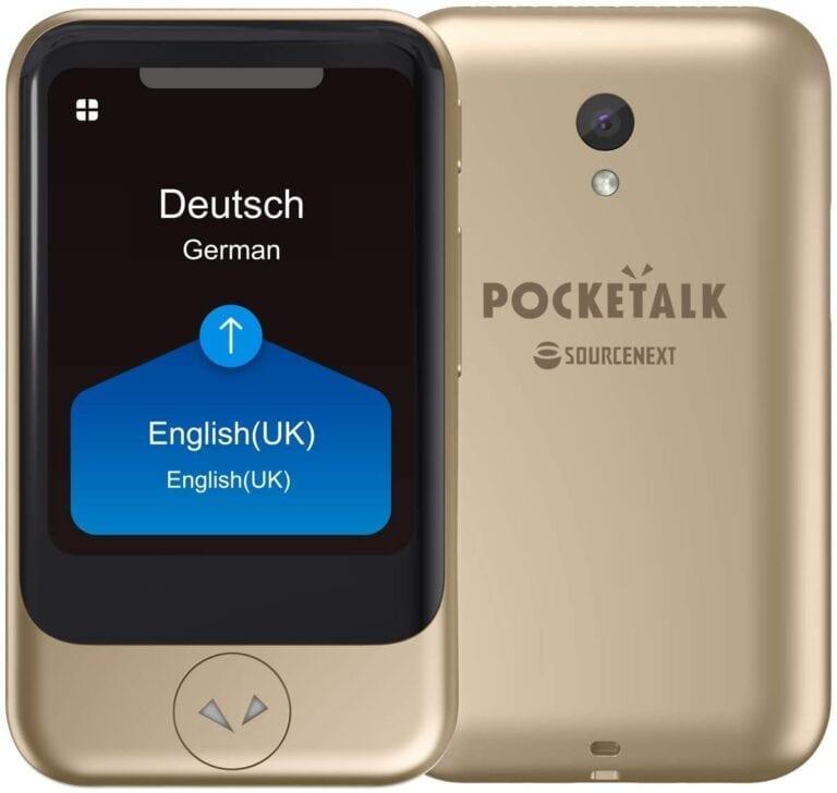 pocketalks traductor por voz camara