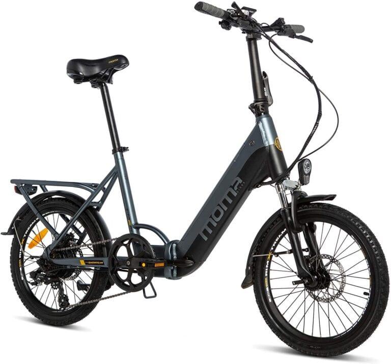 bicicleta eléctrica plegable moma 20 pro