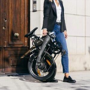 littium bicicleta eléctrica plegable opiniones