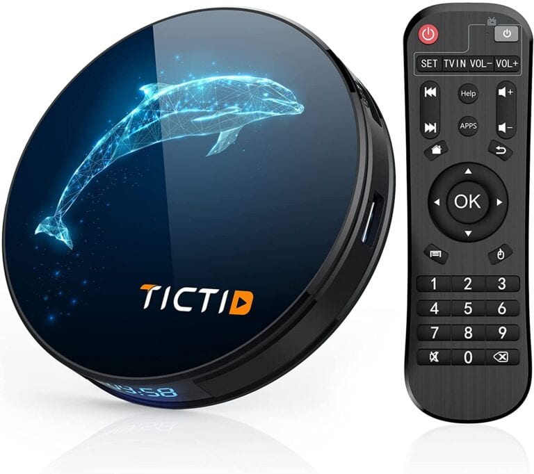 tv box tictid android 10.0