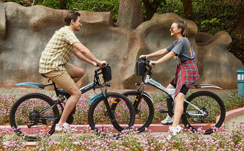 bicicleta eléctrica ancheer opiniones