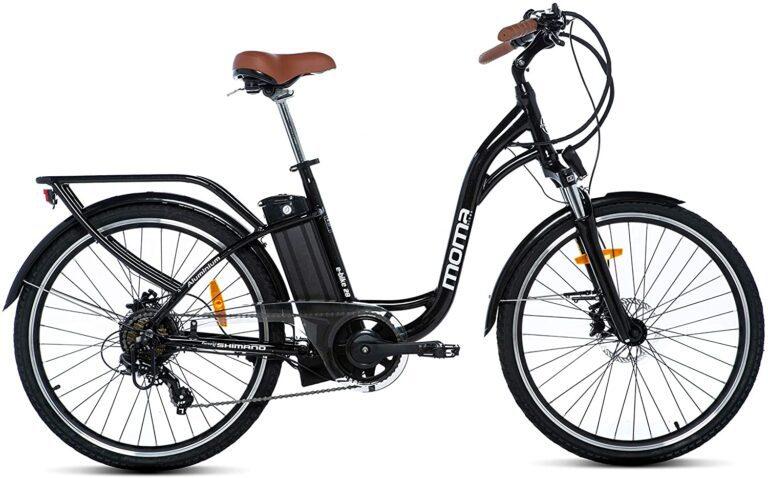 bicicleta eléctrica trekking mujer