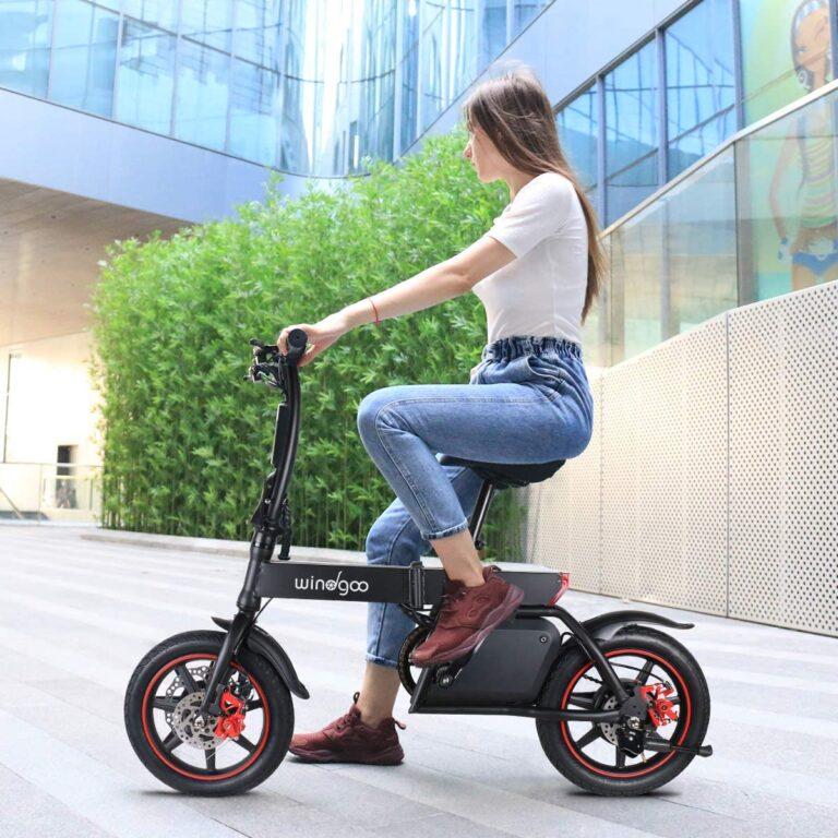 mini bici eléctrica plegable