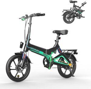 mini bicicleta eléctrica adulto